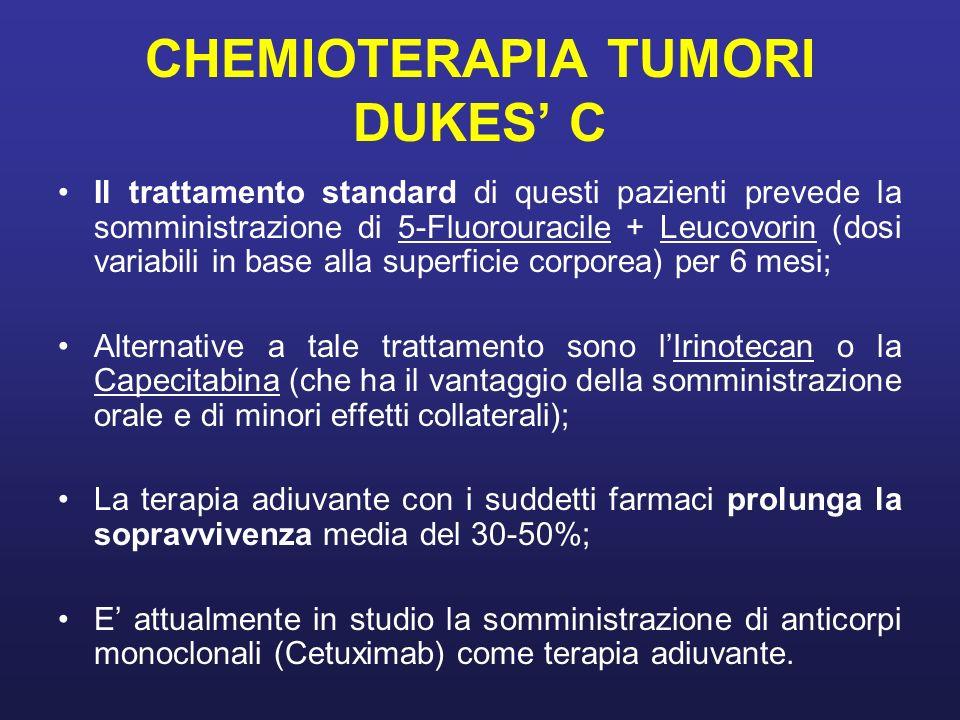 CHEMIOTERAPIA TUMORI DUKES' C
