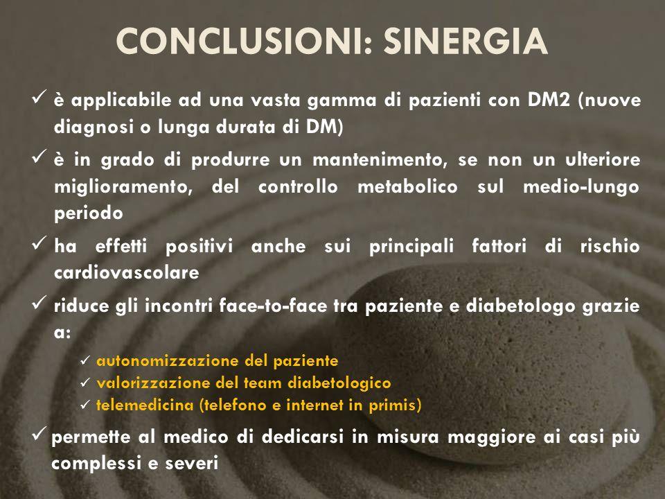 conclusioni: SINERGIA