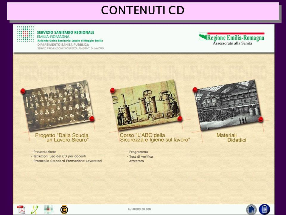 CONTENUTI CD