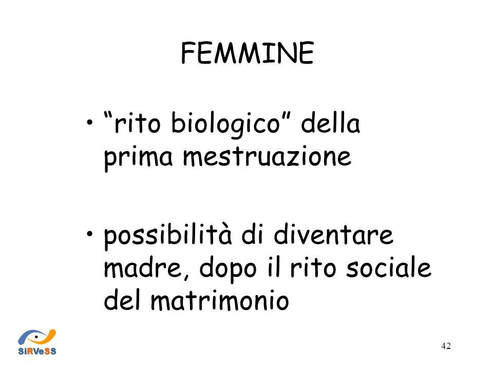 rito biologico della prima mestruazione