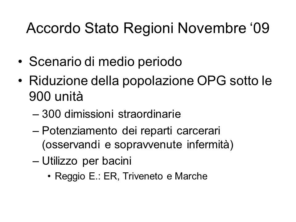Accordo Stato Regioni Novembre '09