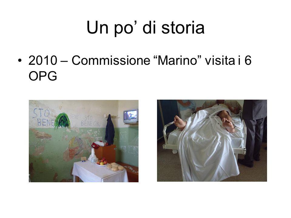 Un po' di storia 2010 – Commissione Marino visita i 6 OPG