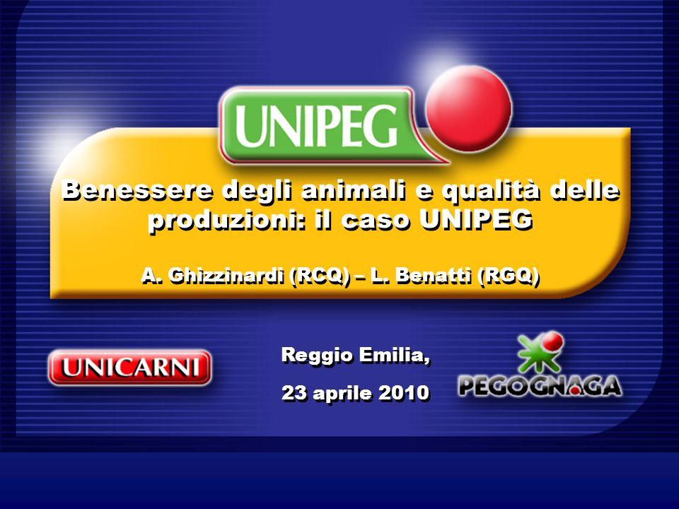 Benessere degli animali e qualità delle produzioni: il caso UNIPEG A