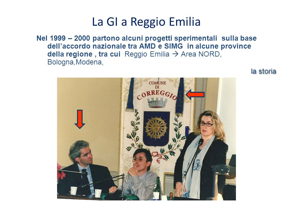 La GI a Reggio Emilia