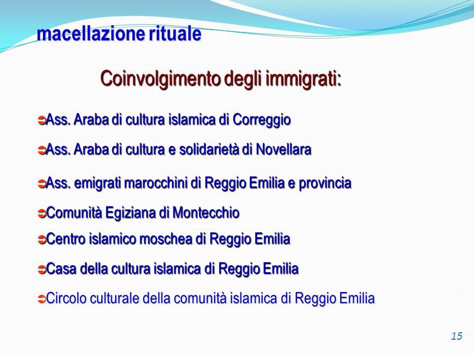 Coinvolgimento degli immigrati: