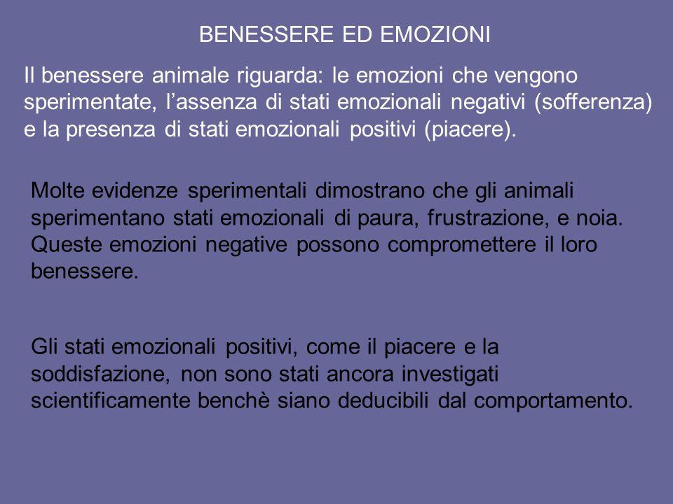 BENESSERE ED EMOZIONI