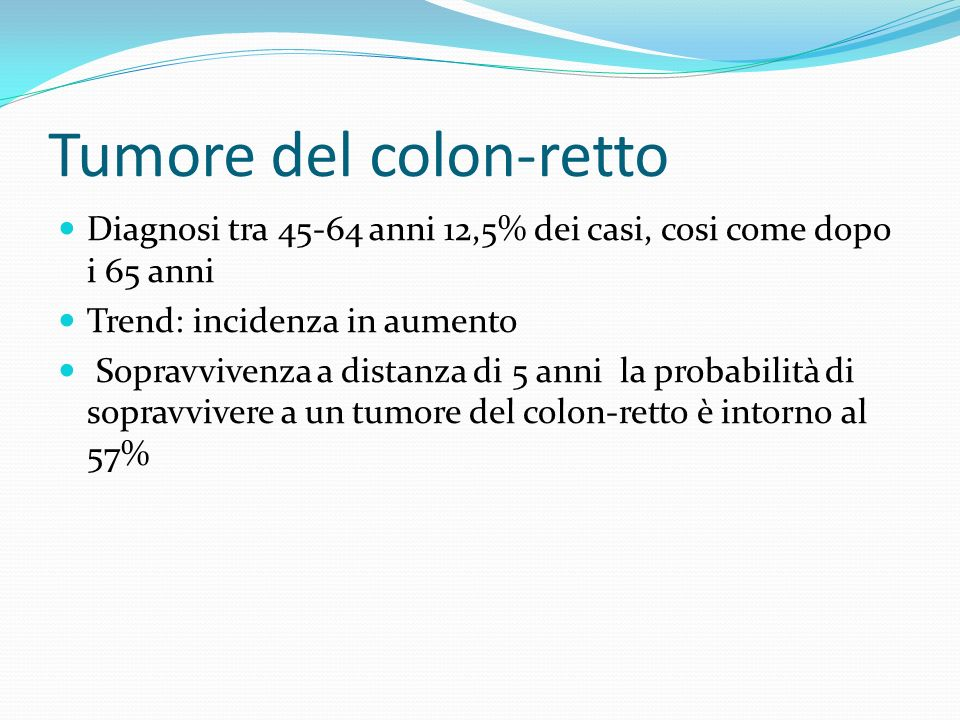 Tumore del colon-retto