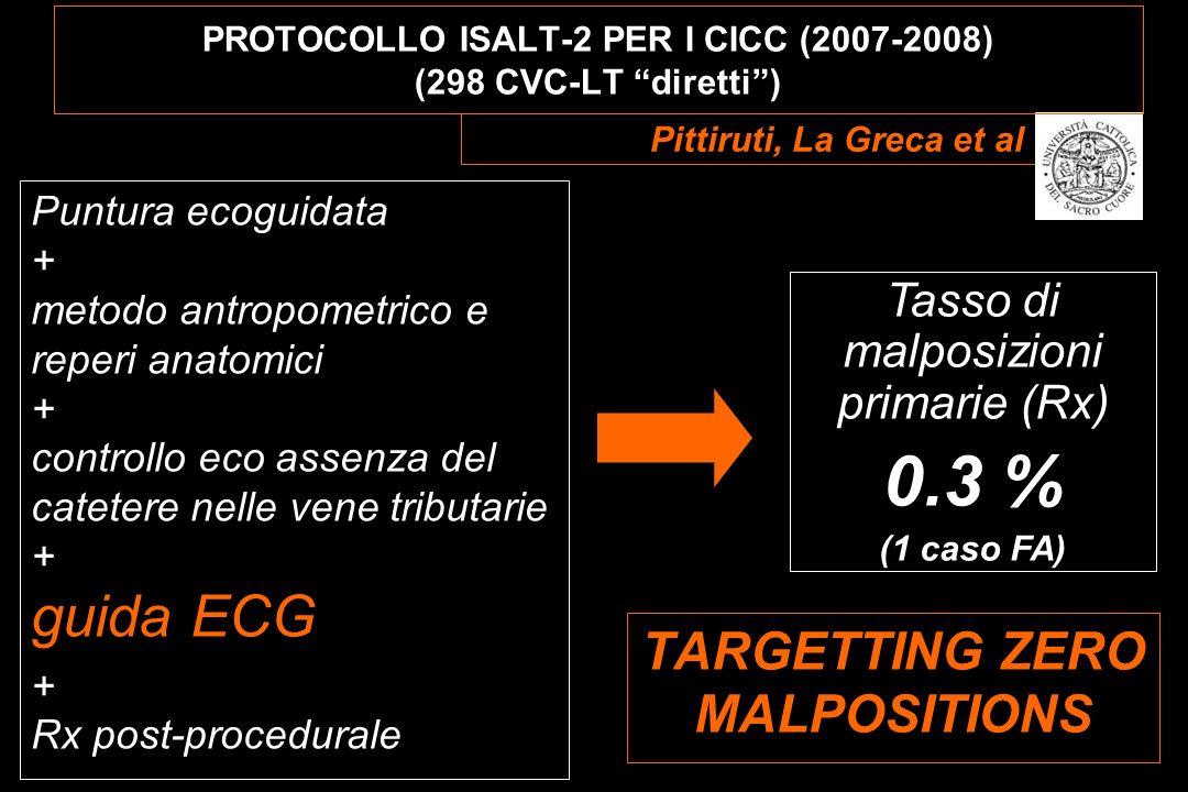PROTOCOLLO ISALT-2 PER I CICC (2007-2008) (298 CVC-LT diretti )