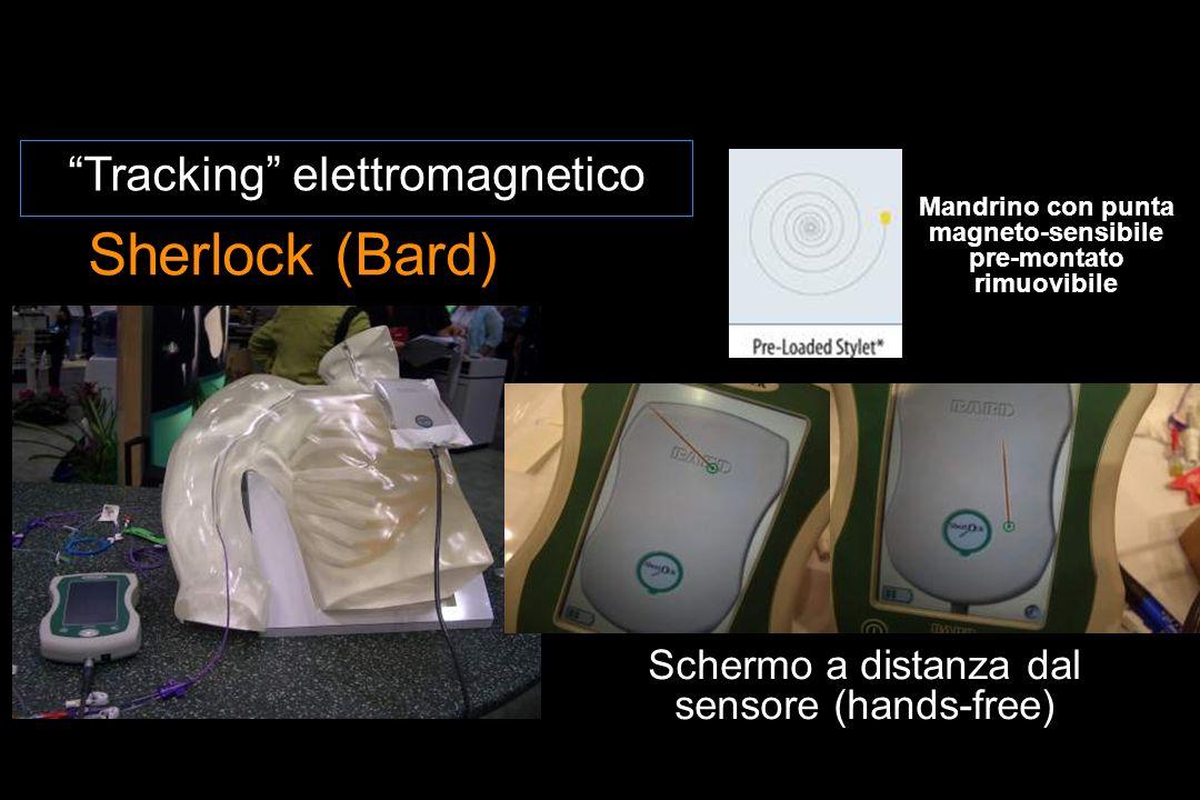 Mandrino con punta magneto-sensibile pre-montato rimuovibile