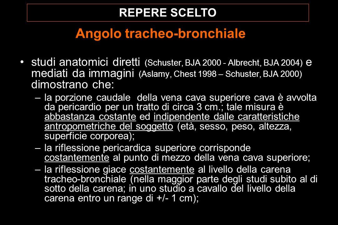 Angolo tracheo-bronchiale