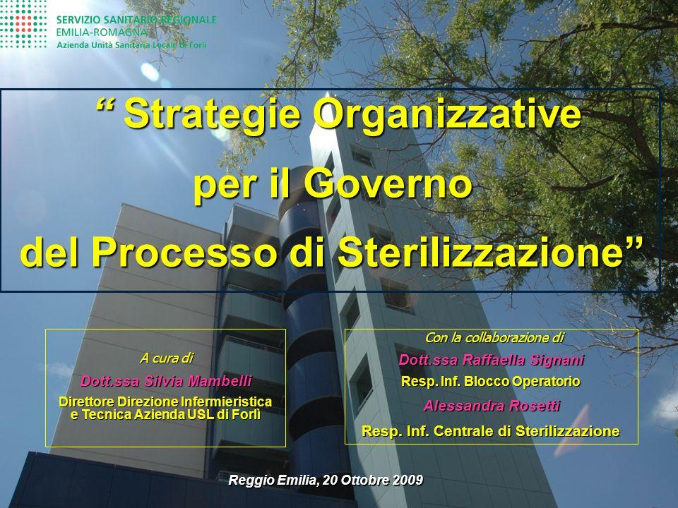per il Governo del Processo di Sterilizzazione
