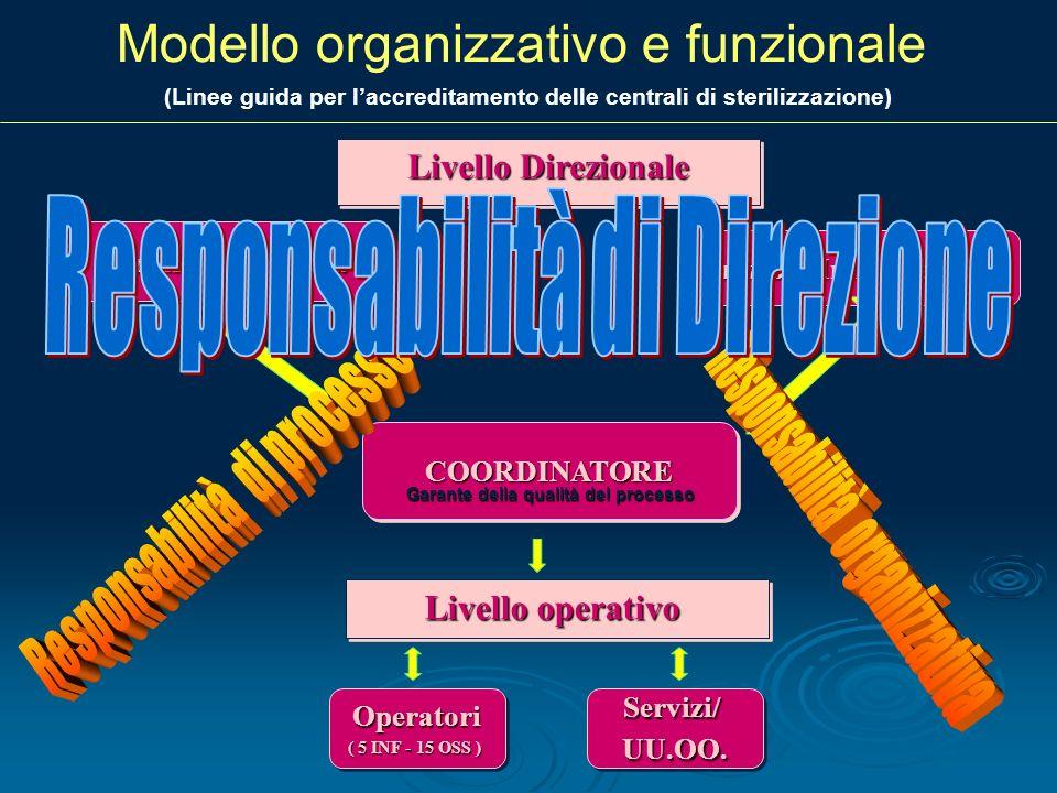 Modello organizzativo e funzionale