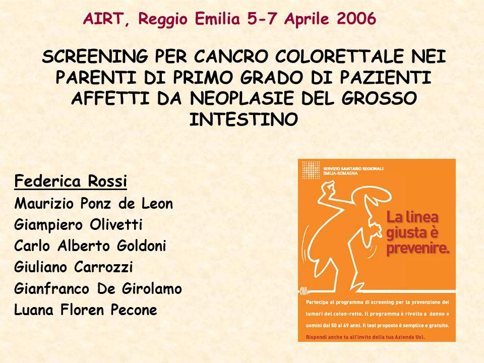 AIRT, Reggio Emilia 5-7 Aprile 2006