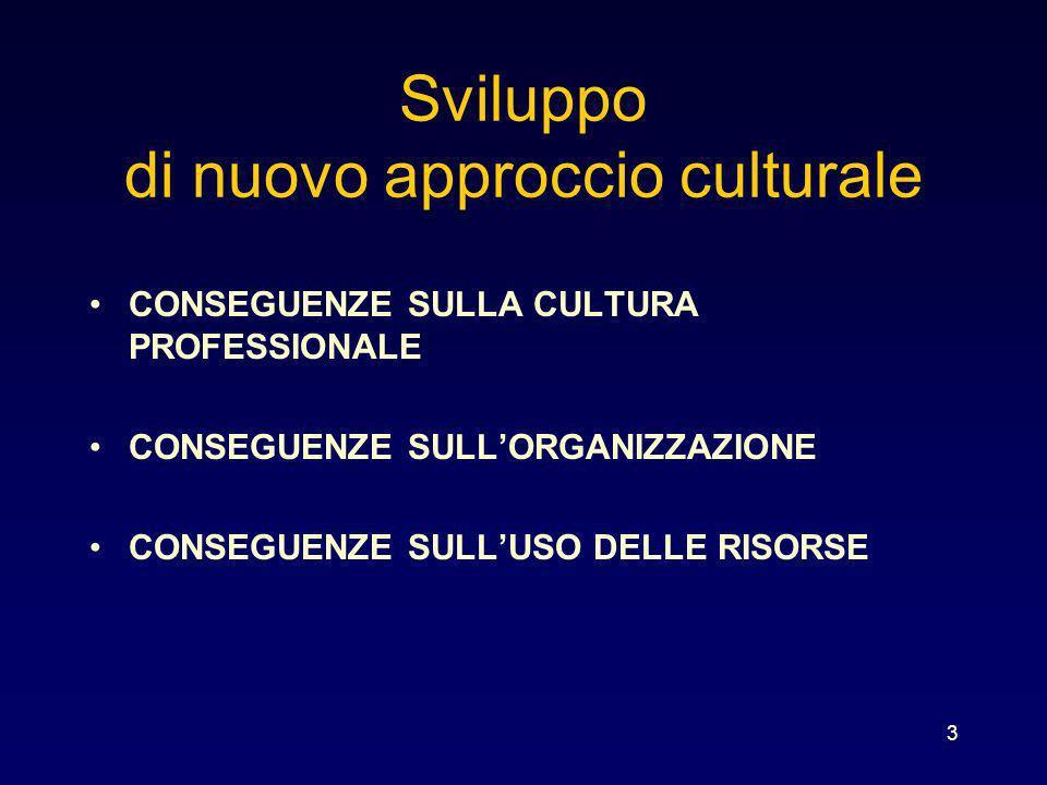 Sviluppo di nuovo approccio culturale