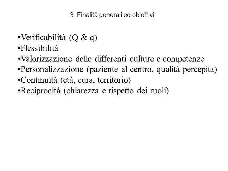 3. Finalità generali ed obiettivi