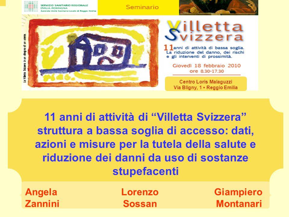 Centro Loris Malaguzzi Via Bligny, 1 • Reggio Emilia