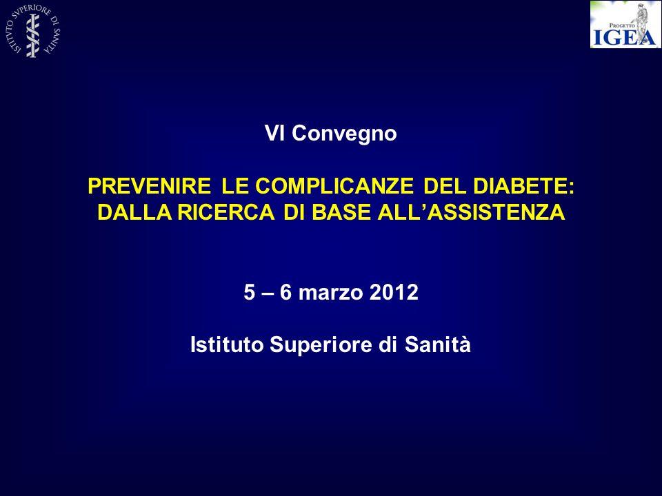 PREVENIRE LE COMPLICANZE DEL DIABETE: