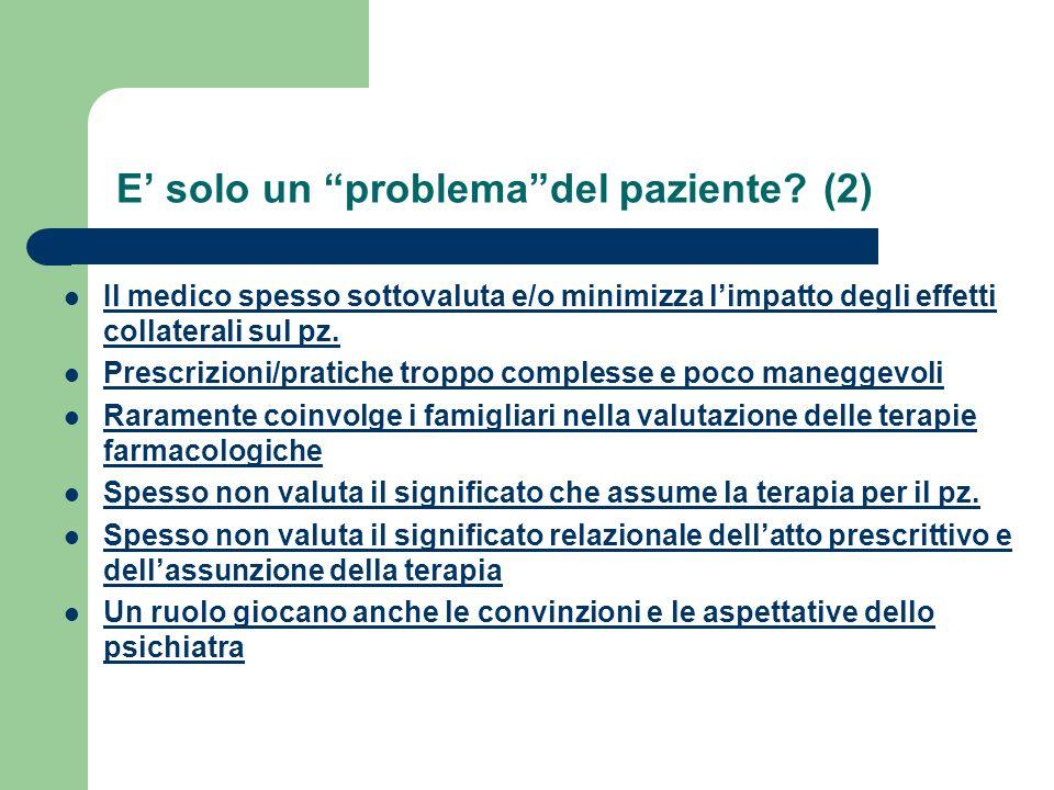 E' solo un problema del paziente (2)