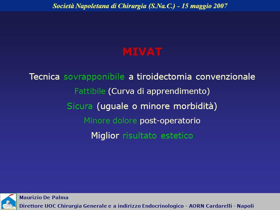Società Napoletana di Chirurgia (S.Na.C.) - 15 maggio 2007