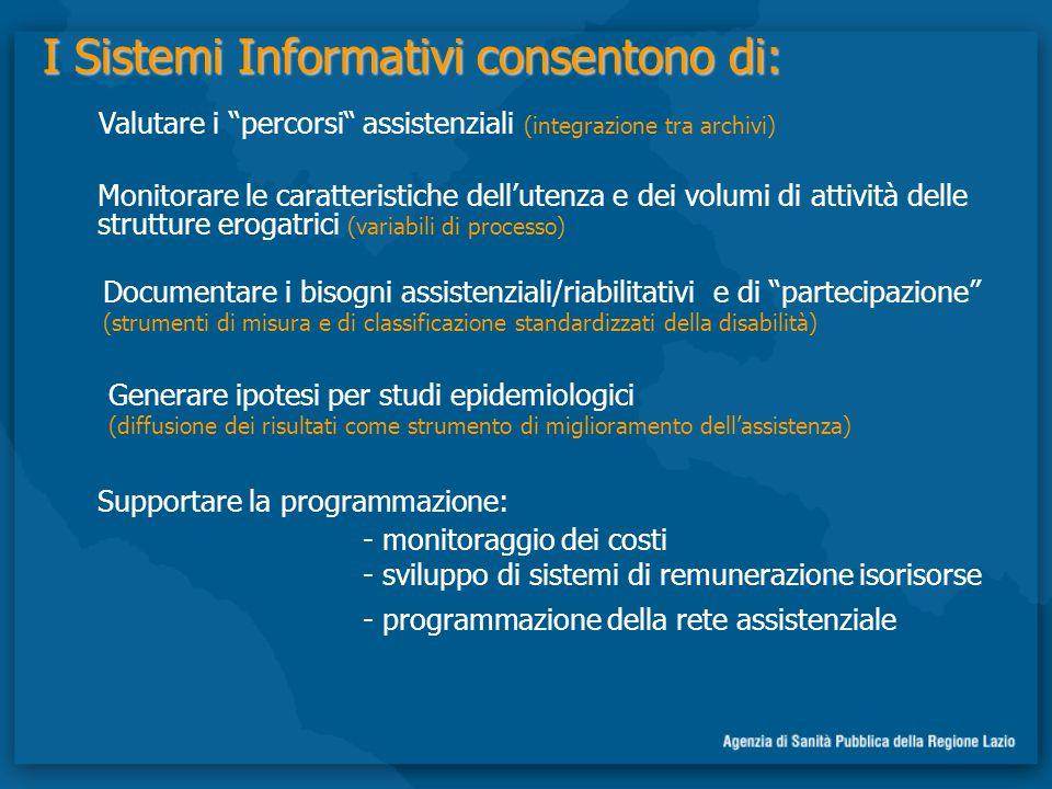 I Sistemi Informativi consentono di: