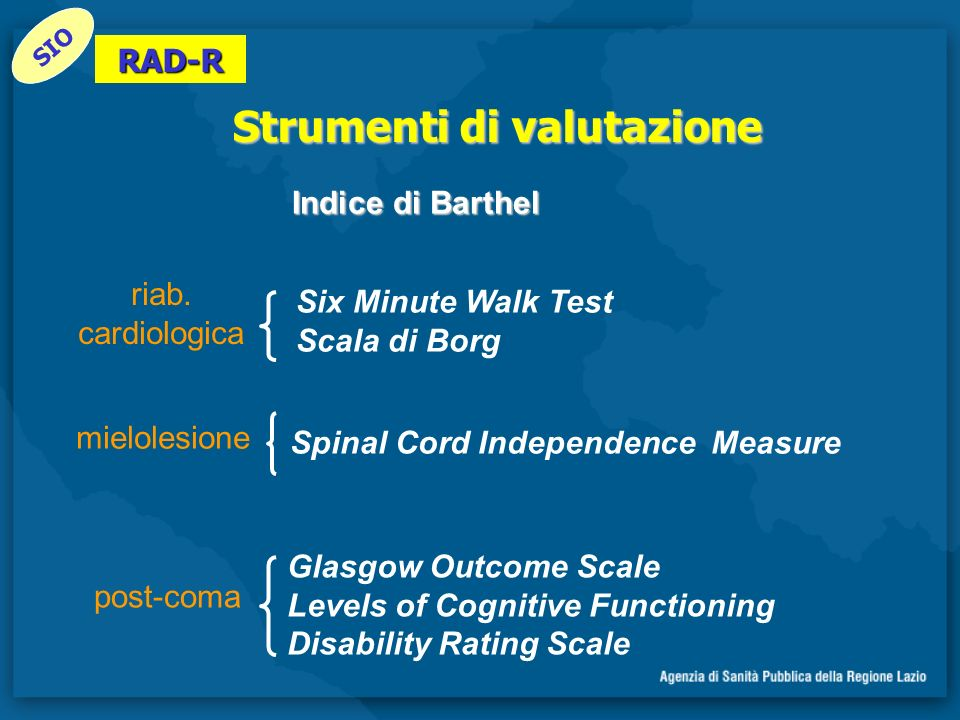 Spinal Cord Independence Measure