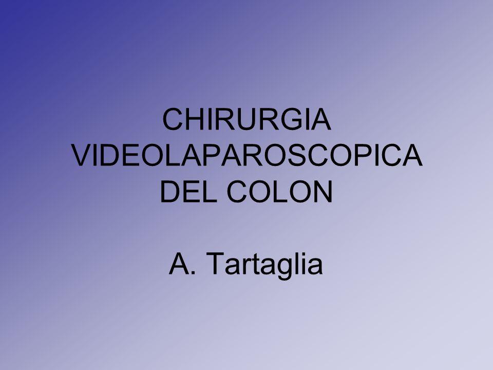 CHIRURGIA VIDEOLAPAROSCOPICA DEL COLON A. Tartaglia