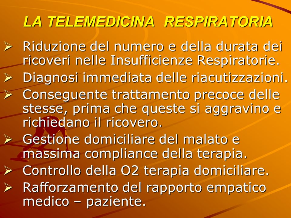 LA TELEMEDICINA RESPIRATORIA