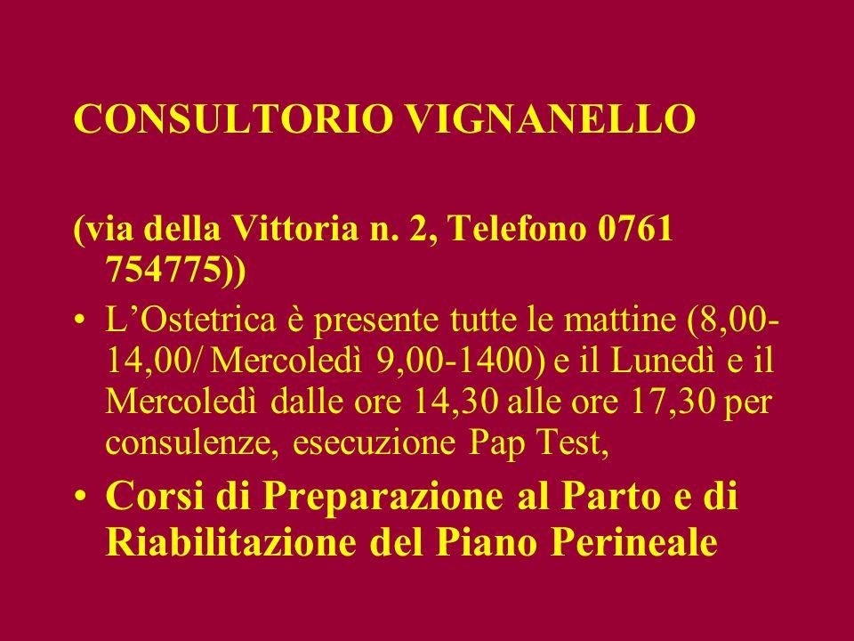CONSULTORIO VIGNANELLO