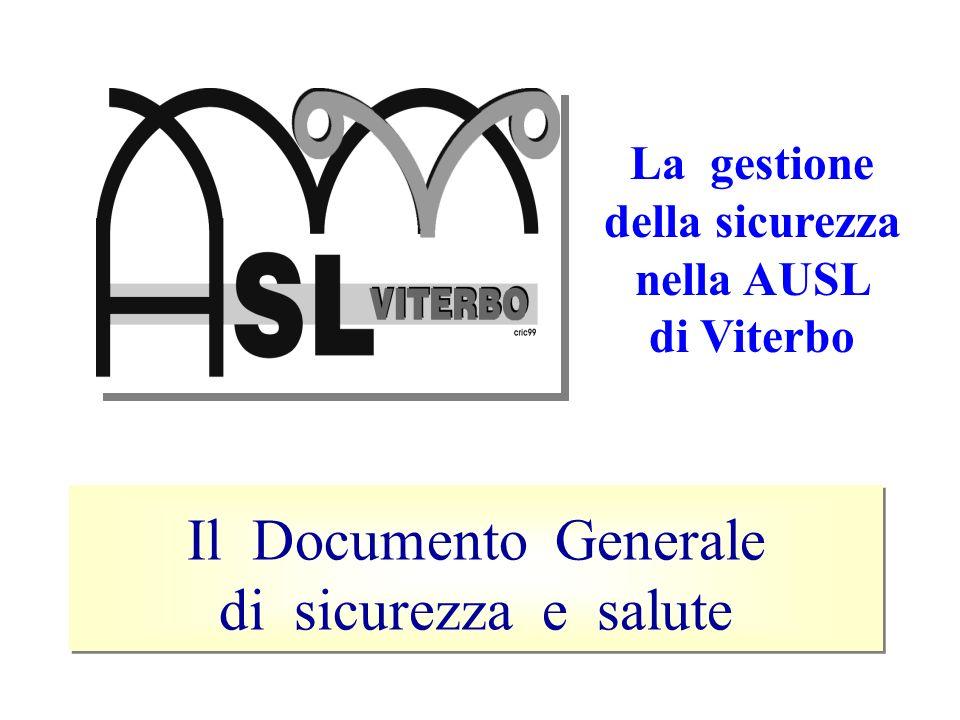 La gestione della sicurezza nella AUSL di Viterbo