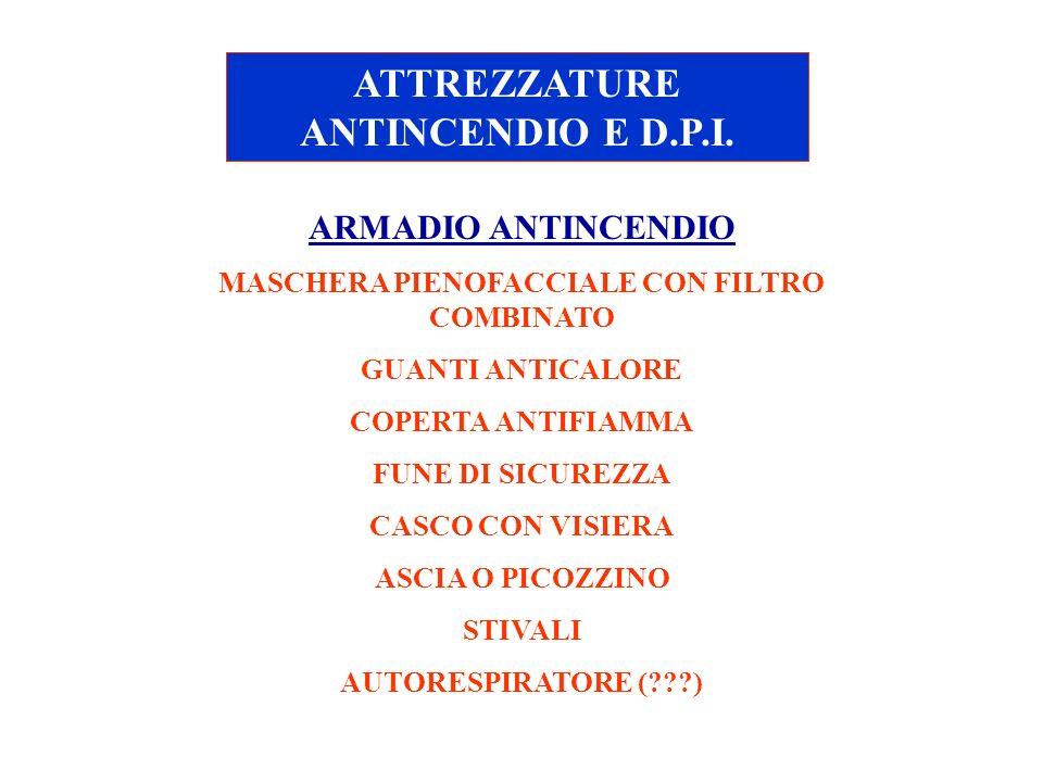 ATTREZZATURE ANTINCENDIO E D.P.I.