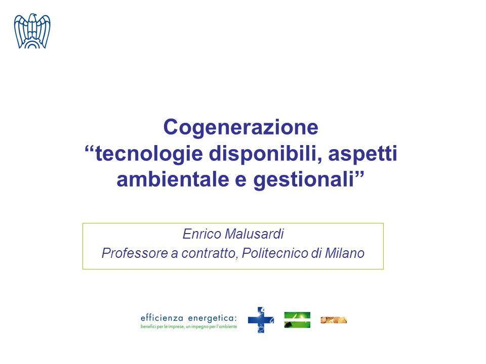 Enrico Malusardi Professore a contratto, Politecnico di Milano