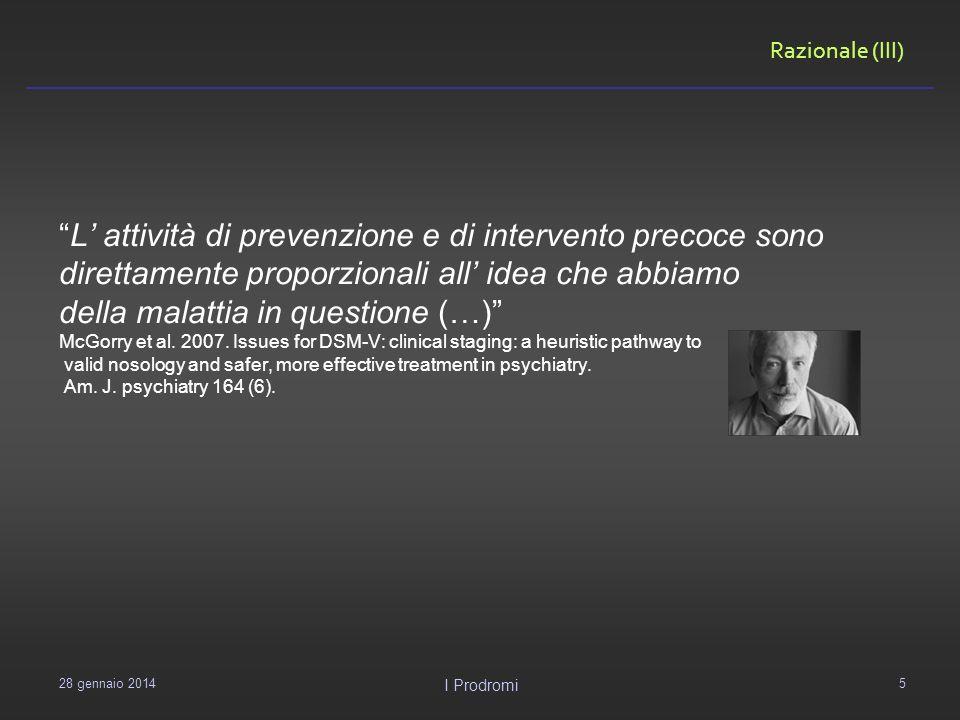L' attività di prevenzione e di intervento precoce sono