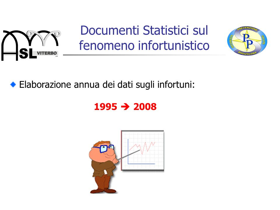 Documenti Statistici sul fenomeno infortunistico