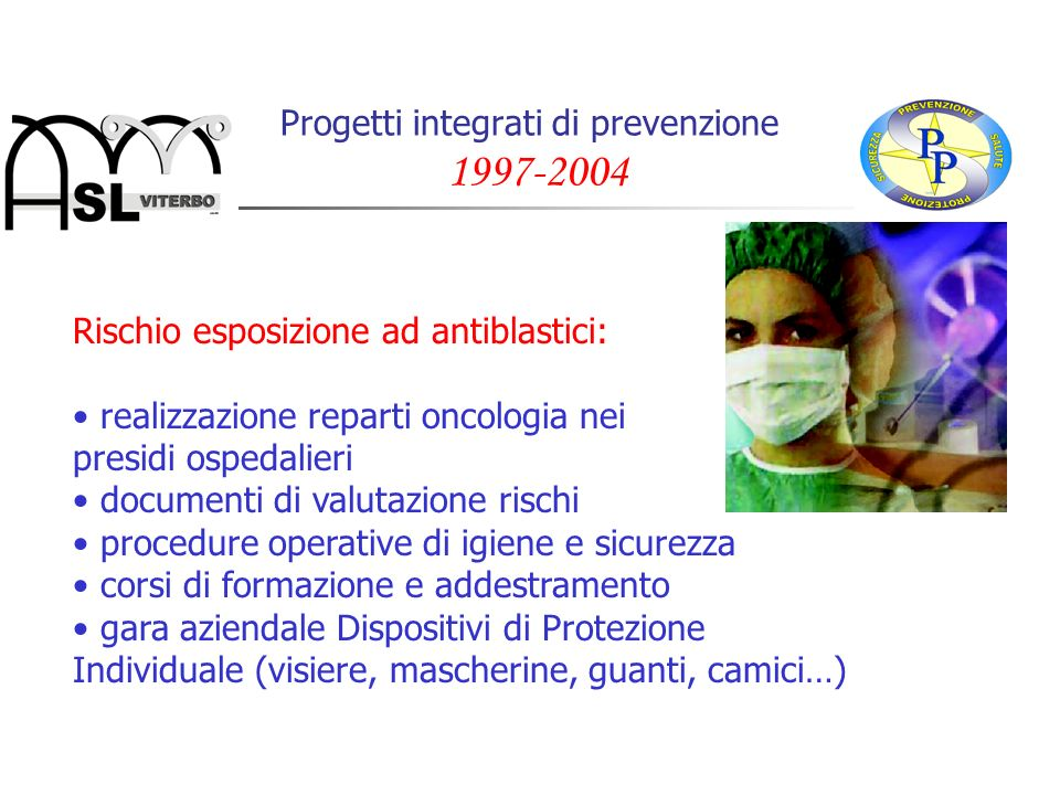 Progetti integrati di prevenzione 1997-2004