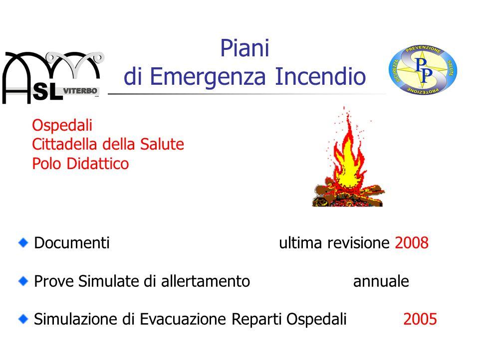 Piani di Emergenza Incendio