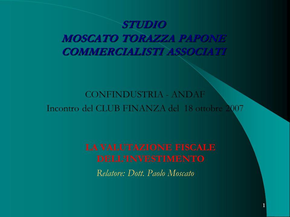 STUDIO MOSCATO TORAZZA PAPONE COMMERCIALISTI ASSOCIATI