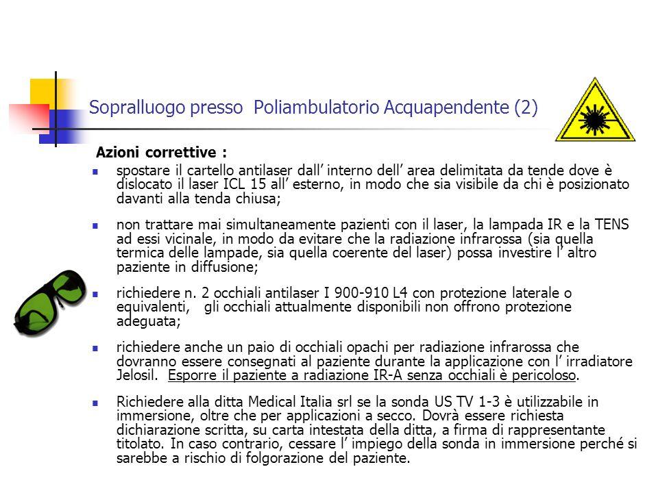 Sopralluogo presso Poliambulatorio Acquapendente (2)
