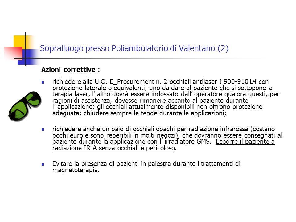 Sopralluogo presso Poliambulatorio di Valentano (2)