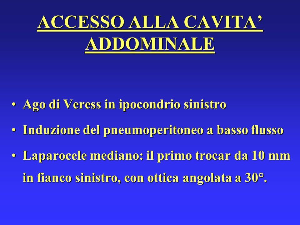 ACCESSO ALLA CAVITA' ADDOMINALE
