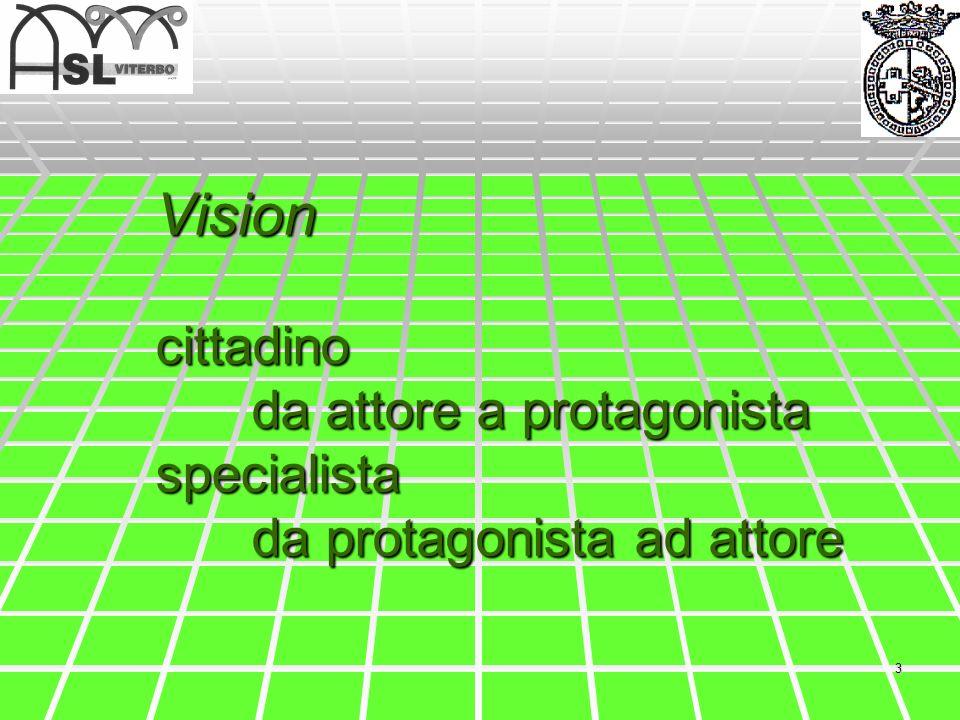 Vision cittadino. da attore a protagonista specialista