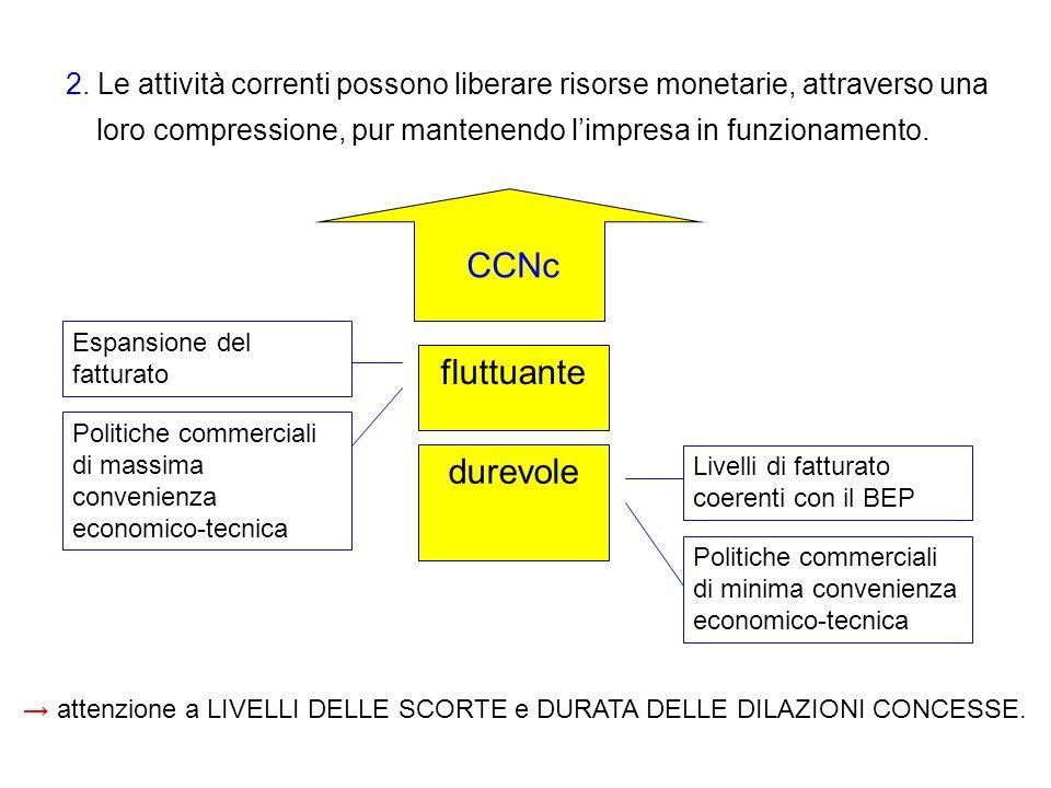 CCNc fluttuante durevole