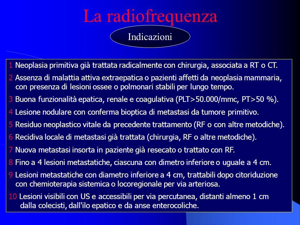 La radiofrequenza Indicazioni