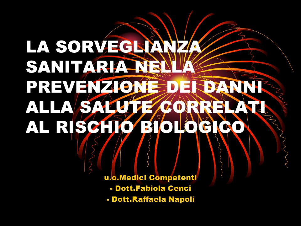 u.o.Medici Competenti - Dott.Fabiola Cenci - Dott.Raffaela Napoli