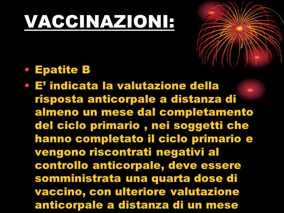 VACCINAZIONI: Epatite B