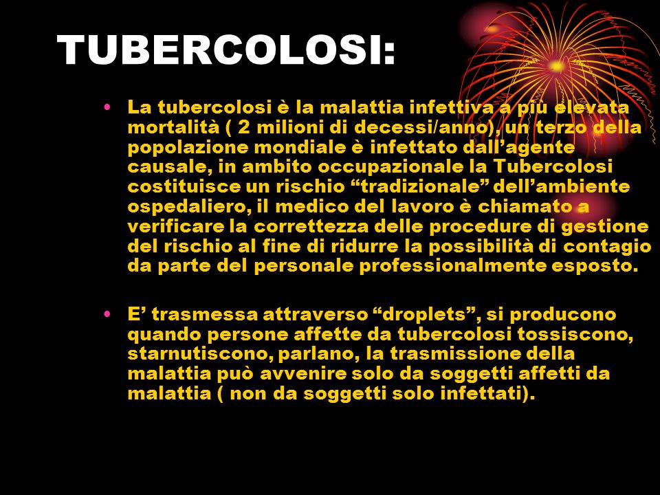 TUBERCOLOSI: