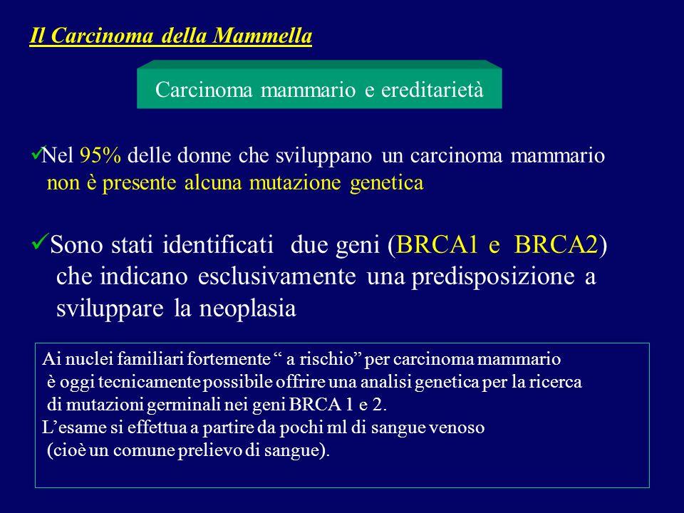 Carcinoma mammario e ereditarietà
