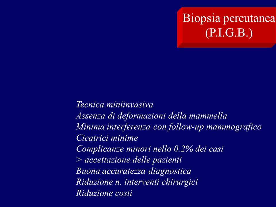 Biopsia percutanea (P.I.G.B.) Tecnica miniinvasiva