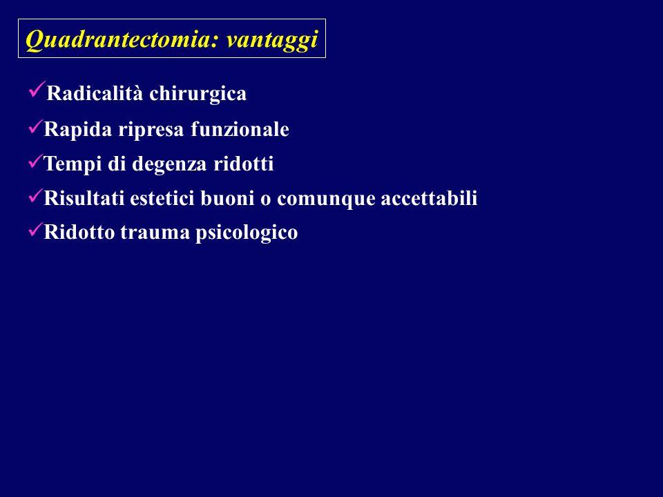 Quadrantectomia: vantaggi