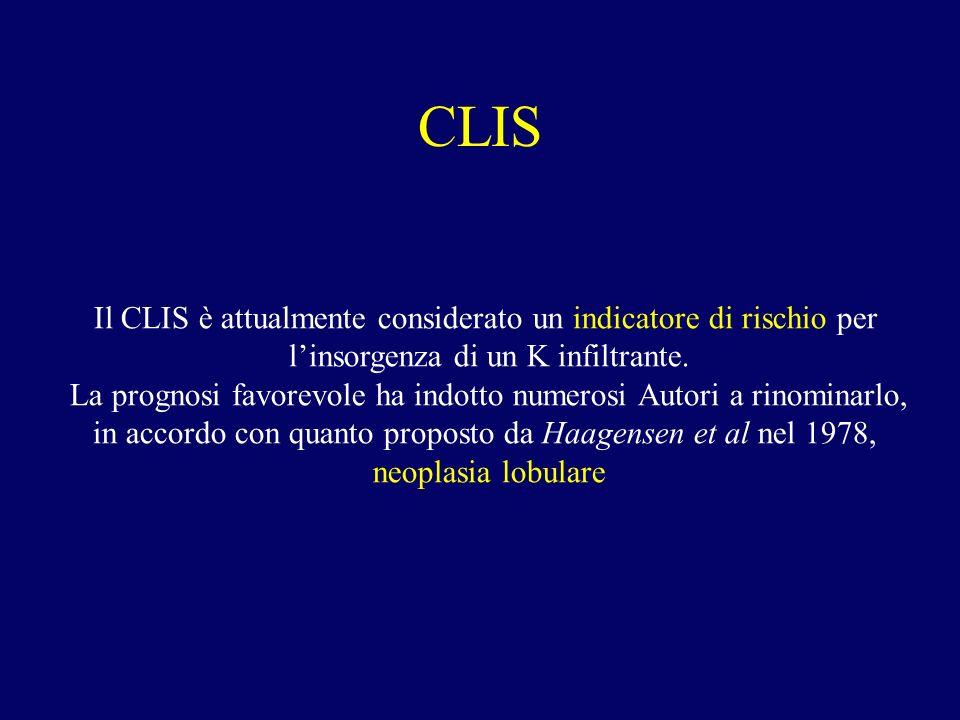 CLIS Il CLIS è attualmente considerato un indicatore di rischio per