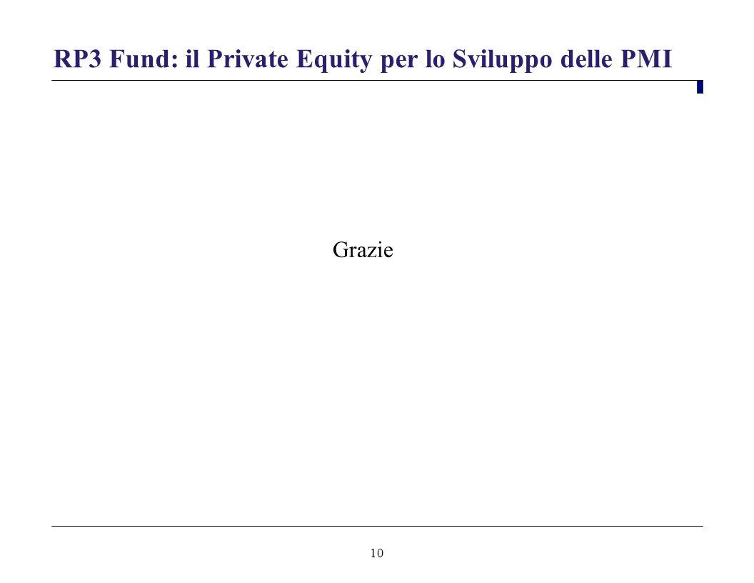 RP3 Fund: il Private Equity per lo Sviluppo delle PMI